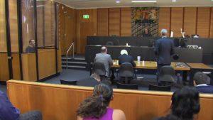 courtroom law suit
